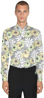 Prada Floral Printed Cotton Shirt