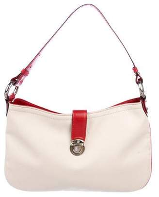 Marc Jacobs Leather-Trimmed Canvas Hobo
