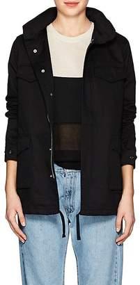 VIS A VIS Women's Cotton Hooded Field Jacket