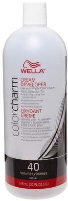 Wella Color Charm 40 Volume Creme Developer 32 oz.