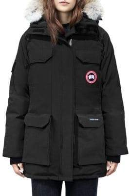 Canada Goose Fur Trim Expedition Parka