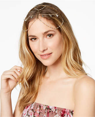 INC International Concepts I.n.c. Gold-Tone Mixed Metal Hard Chain Headpiece, Created for Macy's