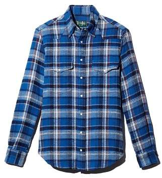 Gitman Brothers Plaid Heavy Flannel Regular Fit Shirt