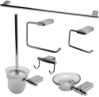 Alfi Brand brand AB9515-PC Polished Chrome 6 Piece Matching Bathroom Accessory Set