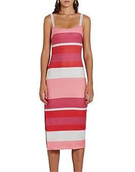 By Johnny Lacework Strap Midi Dress