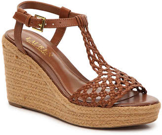 Lauren Ralph Lauren Hailey Wedge Sandal - Women's
