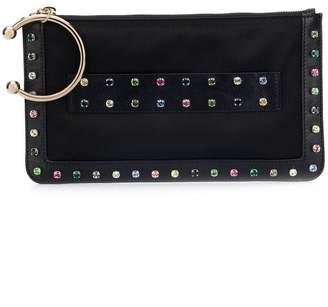 RED Valentino crystal embellished clutch bag