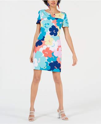 Trina Turk Trina Floral-Print Shift Dress