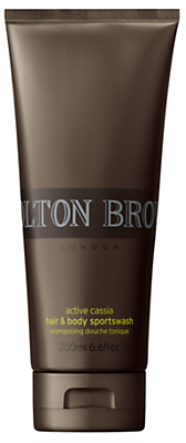 Molton Brown Cassia Energy Sport Hair and Body Wash, 200ml
