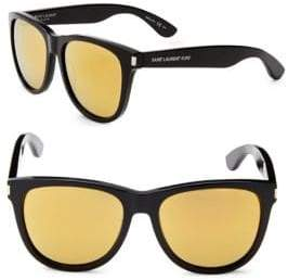Saint Laurent Surf 54MM Round Sunglasses