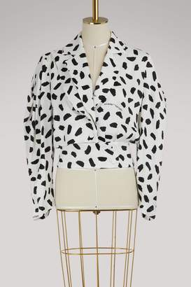 Off-White Bouffant sleeved top