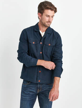 Lucky Brand WAXED SHIRT JACKET