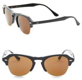 Kyme 48MM Clubmaster Sunglasses