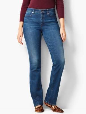 Talbots High-Rise Barely Boot Jeans - Curvy Fit/Nestor Wash