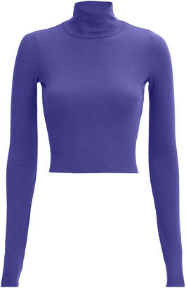 Cotton Citizen Melbourne Crop Turtleneck