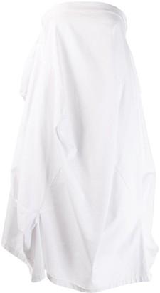MM6 MAISON MARGIELA full white skirt