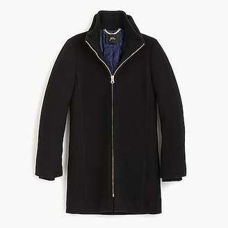 J.Crew Lodge coat in Italian stadium-cloth wool