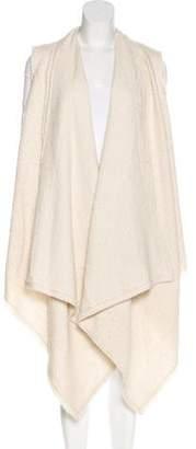 Isabel Marant Alpaca Open Front Cardigan