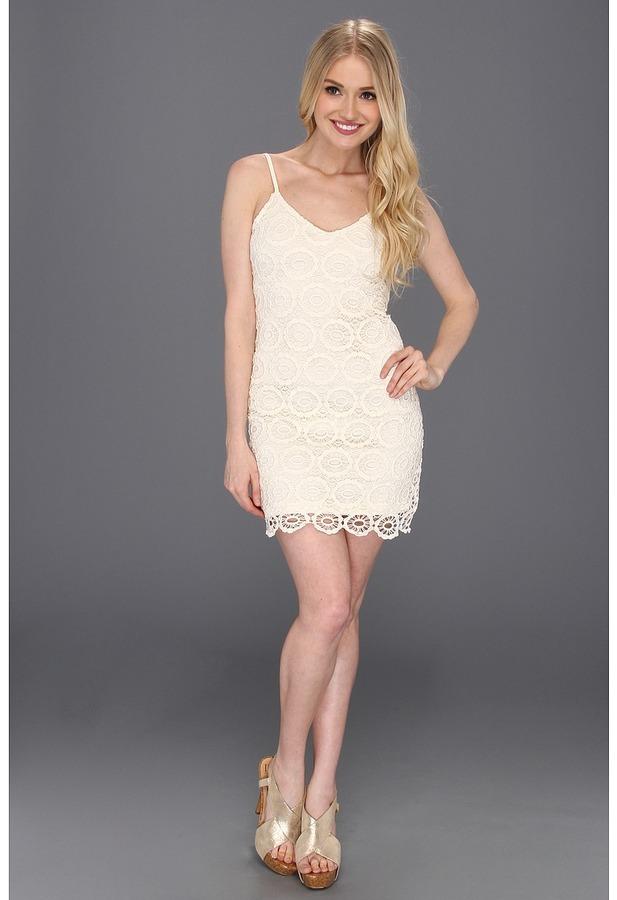 BB Dakota Lynchburg Dress (Ivory) - Apparel