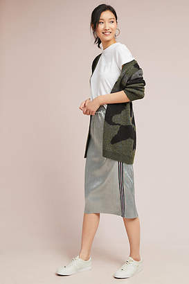 Sunday in Brooklyn Metallic Plisse Skirt