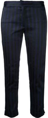 Ann Demeulemeester striped skinny trousers