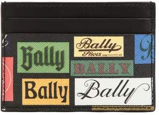 Bally Printed Coated Leather Card Holder