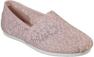 Skechers BOBS FROM  Womens Bobs Plush Closed Toe Slip-On Shoe