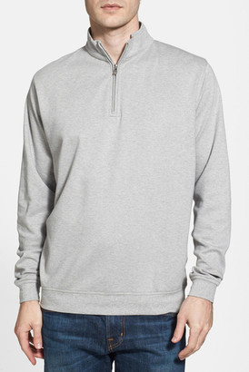 Peter Millar Interlock Quarter Zip Pullover $125 thestylecure.com