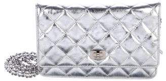 Chanel Metallic Reissue Wallet On Chain