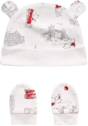 26b57af5e8a Harrods Winnie the Pooh Hat And Mittens Set