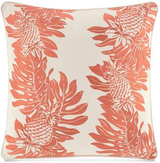 "Tommy Bahama Home La Scala Breezer Embroidered 16"" x 16"" Decorative Pillow"