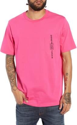 Diesel R) T-JUST-POCKET Embroidered Pocket T-Shirt