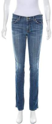 Vince Mid-Rise Straight Jeans