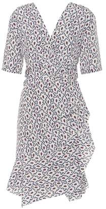 Isabel Marant Arodie printed silk dress