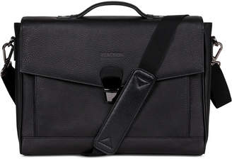 Kenneth Cole Reaction Kenneth Cole Leather Laptop Briefcase