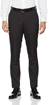 New Look Men's Slim Suit Trousers