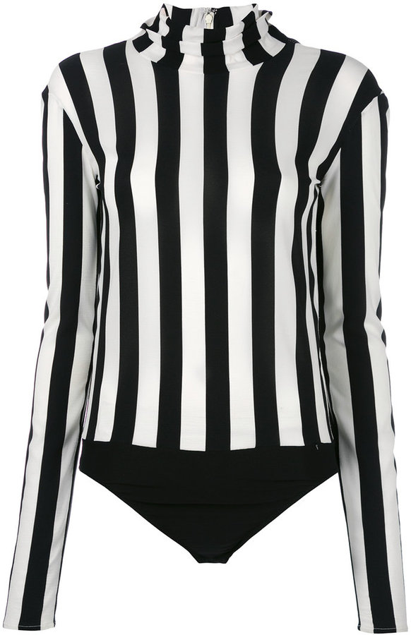 Nina Ricci Nina Ricci high neck striped bodysuit