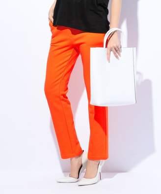 Calvin Klein (カルバン クライン) - CK CALVIN KLEIN WOMEN 【ストレッチ抜群】クラシックコットンフレンチテリー スウェットパンツ(C)FDB