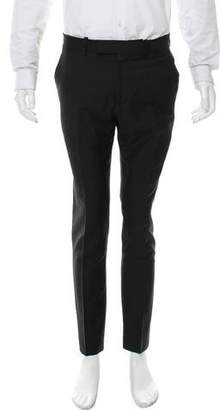 Alexander McQueen Flat Front Dress Pants