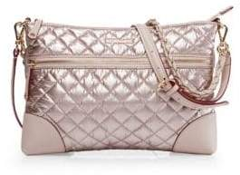 MZ Wallace Medium Crosby Quilted Nylon Crossbody Bag