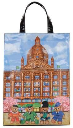 Harrods Medium Knightsbridge Bears Shopper Bag