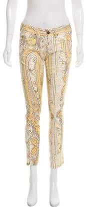Isabel Marant Mid-Rise Printed Jeans