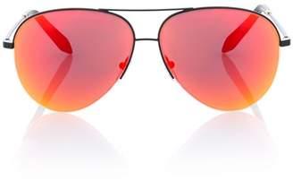 Victoria Beckham Classic Victoria mirrored sunglasses