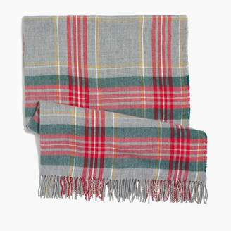 J.Crew Plaid blanket scarf