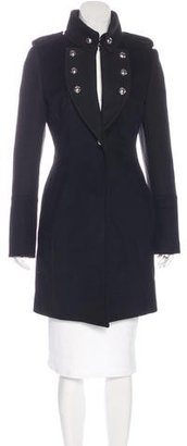 Karen Millen Wool Knee-Length Coat $185 thestylecure.com