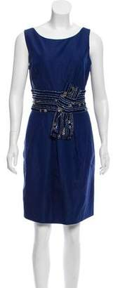 Lela Rose Embellished Knee-Length Dress w/ Tags