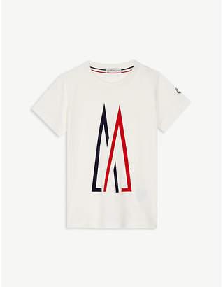 Moncler Large logo cotton T-shirt 4-14 years