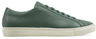 HBC SULLY WONG Mens Classic Leather Low-Top Sneakers