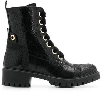Twin-Set chunky heel boots