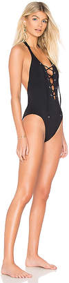 Seafolly Active Lace Up One Piece